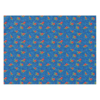 Floral Holiday Pattern Tablecloth