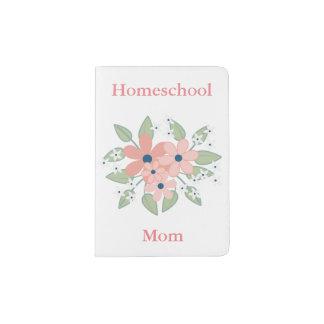 Floral Homeschool Mom Bouquet Passport Holder