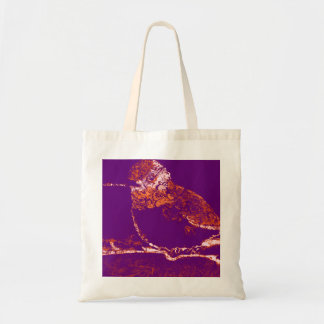 Floral Hummingbird Budget Tote Bag