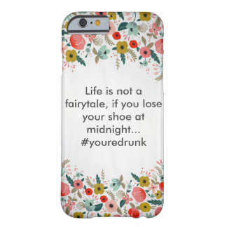 Floral Humor Phone Case Barely There iPhone 6 Case