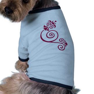 Floral Hundetshirts