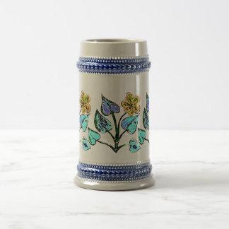 Floral Illustration Mug