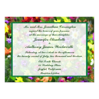 Floral Impressions Wedding Personalized Invite