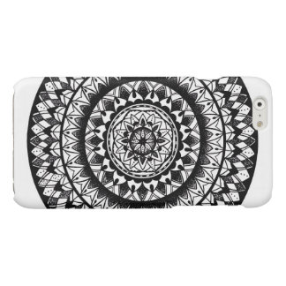 floral Ink Mandala iPhone 6 Plus Case