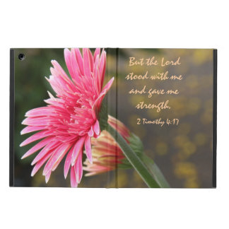 Floral iPad Air, Bible Verse about God's Strength iPad Air Case