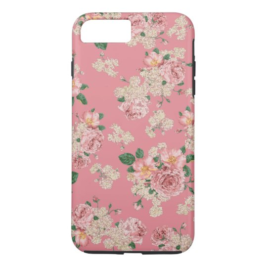Floral iPhone 7 plus case