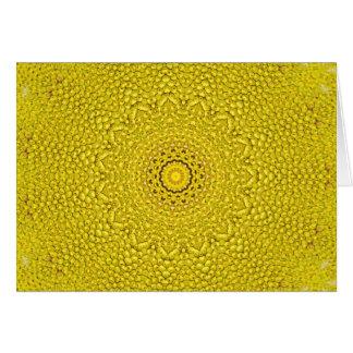 Floral jackfruit scale like pattern card