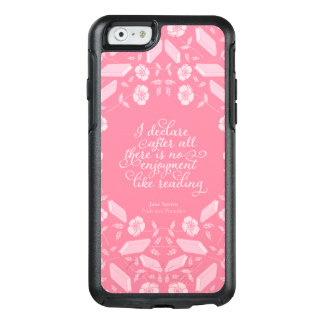 Floral Jane Austen Pride & Prejudice Bookish Quote OtterBox iPhone 6/6s Case