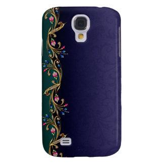 Floral Jewel Garland Samsung S4 Case