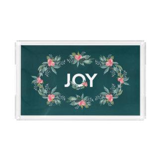 Floral Joy Holiday Tray