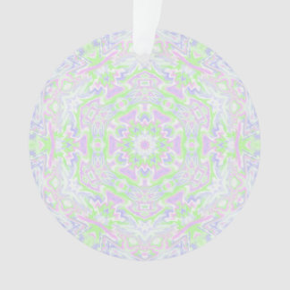 Floral Kaleidoscope 2 Ornament