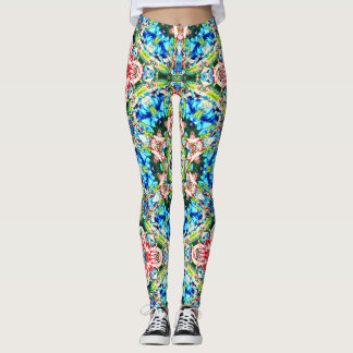 Floral - Kaleidoscope Leggings