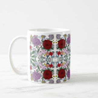 Floral Kaleidoscope Mug