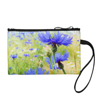 Floral Key Coin Clutch