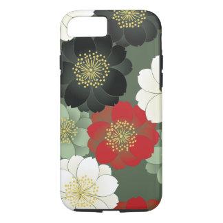 Floral Kimono Pattern Japanese Fine Art iPhone 7 Case