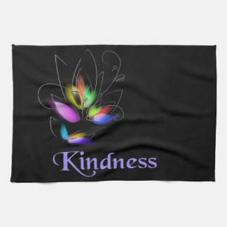 Floral Kindness Hand Towel