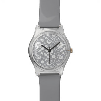 Floral Lace Pattern Watch