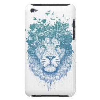 Floral lion iPod Case-Mate cases