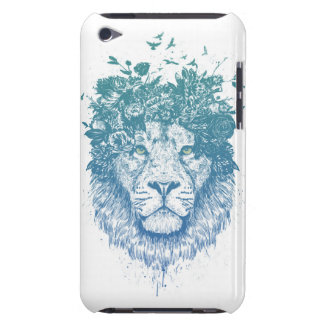 Floral lion iPod touch cover