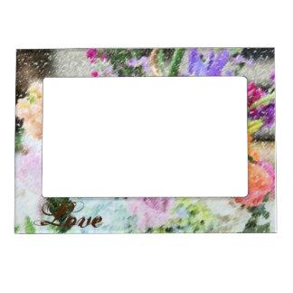 Floral Love Photo Frame Magnetic Photo Frames