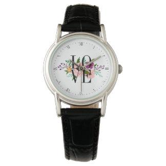 Floral LOVE Watch