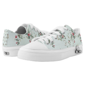 Floral Low Tops
