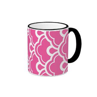 Floral Magnificent Radiant Floral Ringer Mug