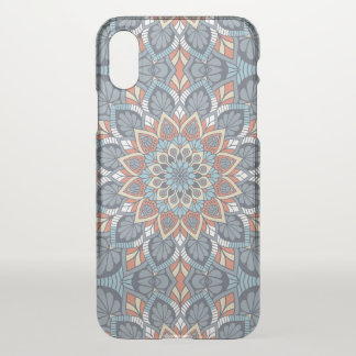 Floral Mandala iPhone X Case