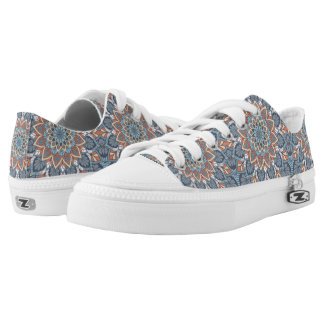 Floral Mandala Low Tops