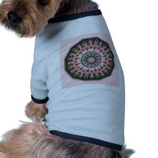 Floral mandala-style, Tulips, flower mandala Ringer Dog Shirt