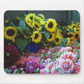 Floral Market Mouse Pad