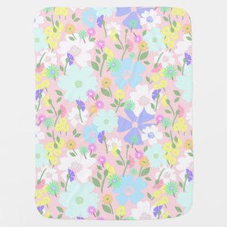 Floral Meadow Baby Blanket