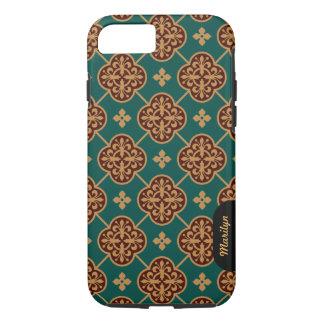 Floral medieval tile pattern CC0908 Augustus Pugin iPhone 8/7 Case
