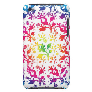 Floral mix barely there iPod case