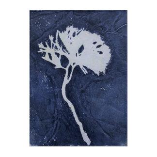 Floral Monoprint 17031432B Wall Art