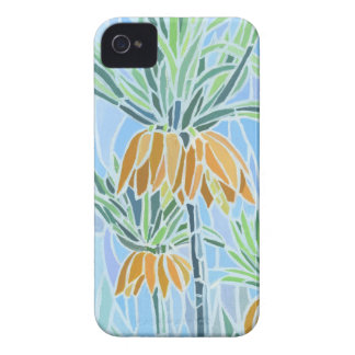 Floral Mosaic  iPhone 4 Case-Mate Barely There