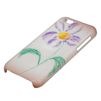 Floral Motif Cover For iPhone 5C
