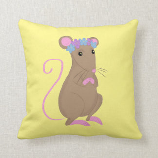 Floral mouse cushion