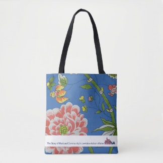 Floral Museum LA Tote Bag
