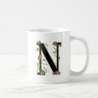 Floral N Coffee Mug