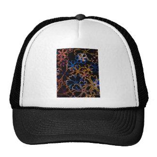 Floral Neon Trucker Hats
