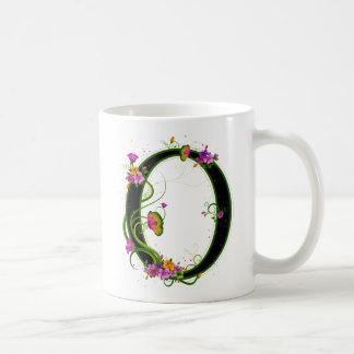 Floral O Coffee Mug