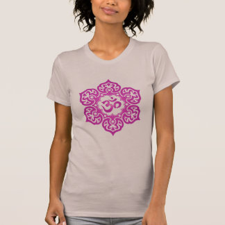Floral Ohm Design (red violet) T-Shirt