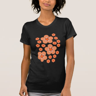 Floral Orange Products T Shirts