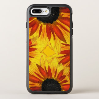Floral Orange Yellow Red Sunflowers Garden Flowers OtterBox Symmetry iPhone 8 Plus/7 Plus Case