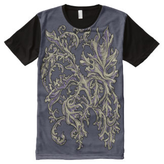Floral Ornaments variation All-Over Print T-Shirt