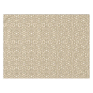 Floral ornate background tablecloth