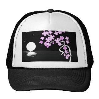 Floral Paint Art Hats