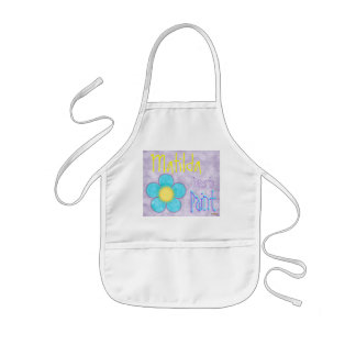 Floral Painting Apron