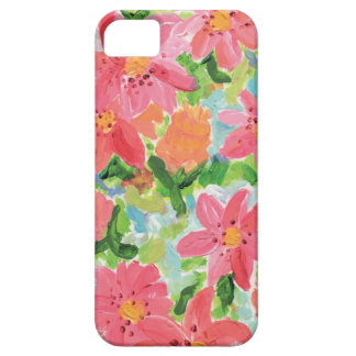 Floral Painting iPhone 5 Cases